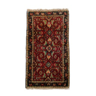 """Hand-Knotted Persian Rug - 1'6"""" x 2'9"""""""