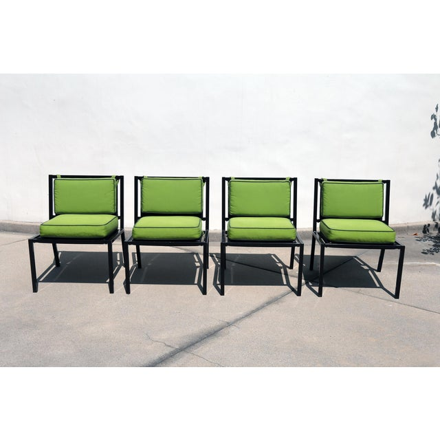 Van Keppel Green Patio Chairs - Set of 4 - Image 2 of 9