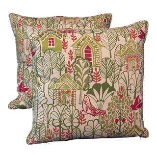 Swedish House Accent Feather Pillows