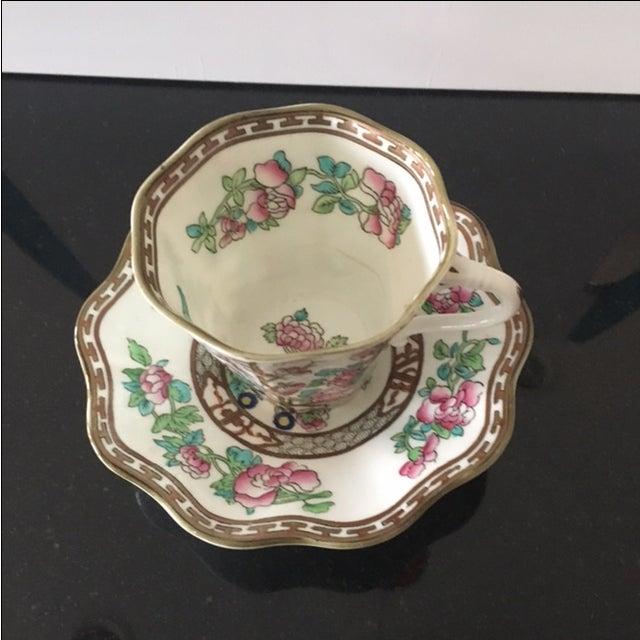 Vintage Coalport Bone China Tea Cup and Saucer Set - Image 4 of 7