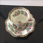 Image of Vintage Coalport Bone China Tea Cup and Saucer Set
