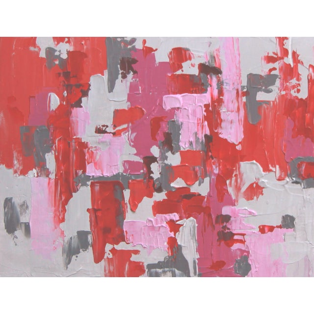 """Image of """"Love for Love"""" Abstract Painting by C. Plowden"""