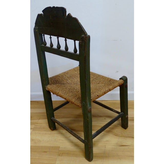 Spanish Colonial Chair - Image 4 of 4