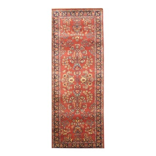 "Pasargad N Y Indo Sarouk Hand Knotted Rug - 2'5"" X 6'6"""