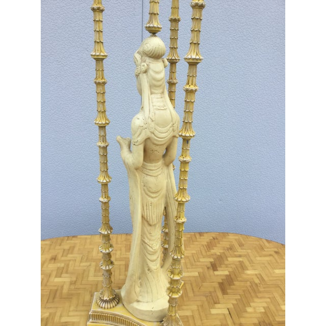 1940's James Mont Style Geisha Table Lamp - Image 11 of 11