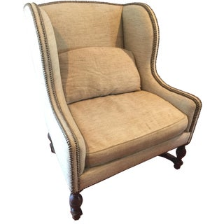 Laura Flemish Wing Chair