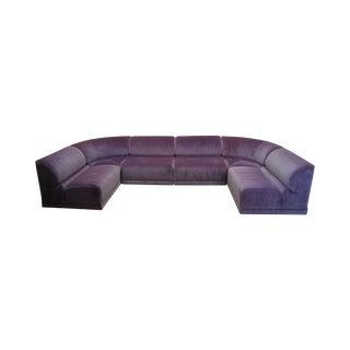 Roche Bobois Mid Century Modern Modular Sectional Sofa
