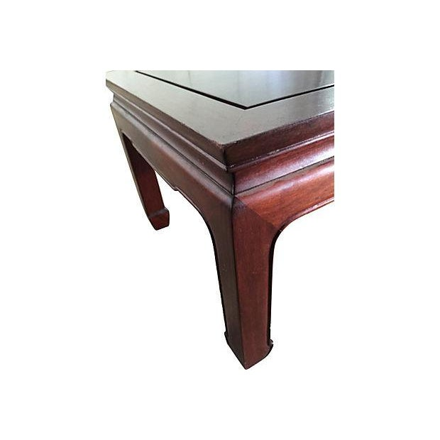Image of Vintage Chinese Ming Style Rosewood Coffee Table