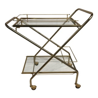 Mid-Century French Bar Cart