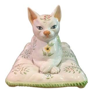 Italian Porcelain Siamese Cat