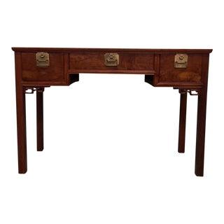 Vintage Asian Elmwood Desk