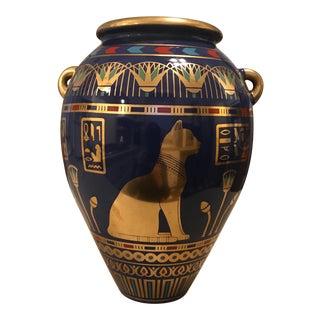 """Franklin Mint Porcelain """"Vase of Bast"""""""