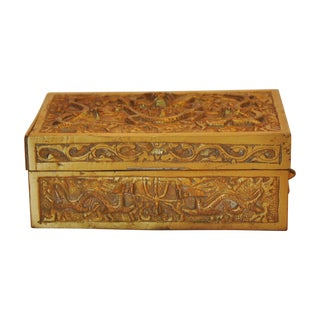 Early 20th Century Brass Box