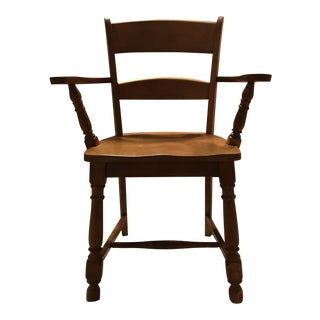 Haywood Wakefield Mid-Century Maple Arm Chair