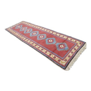 "Turkish Oushak Runner Rug - 3'5"" x 10'"