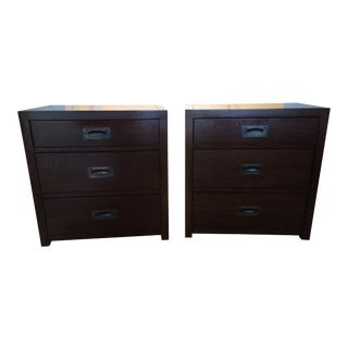 Restoration Hardware Larkspur Nightstands - A Pair