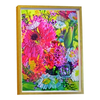 "Johnny Nicoloro ""Super Tuesday Bouquet"" Original Photo Artwork"