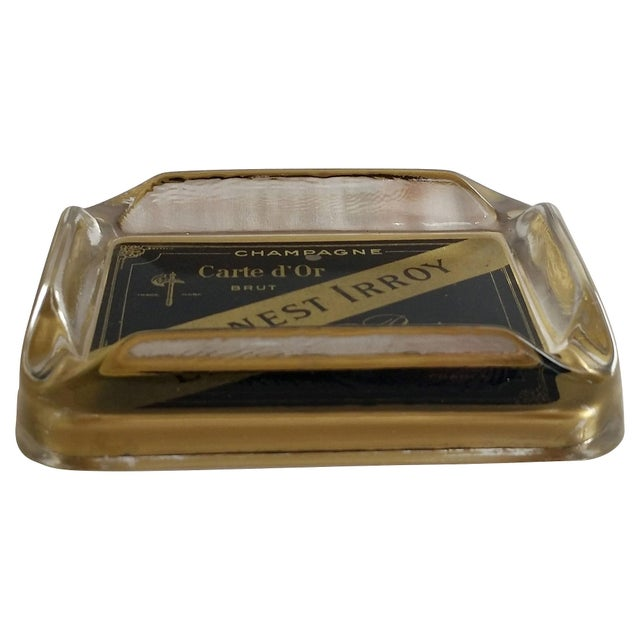 Image of French Champagne Ashtray