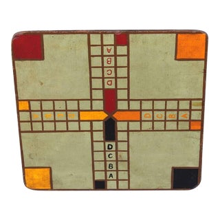 """Original Painted Game Board with """"ABCD"""""""