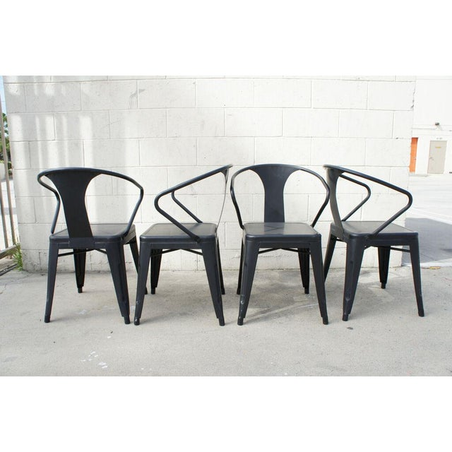 Tolix Dining Chairs- Set of 4 - Image 2 of 9