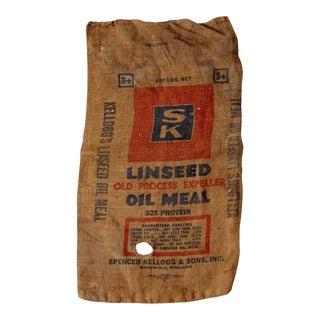 Vintage Kellogg's Farm Sack