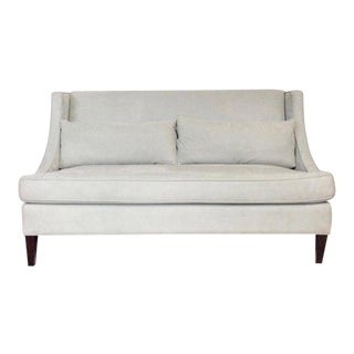 Contemporary American Made Upholstered Settee