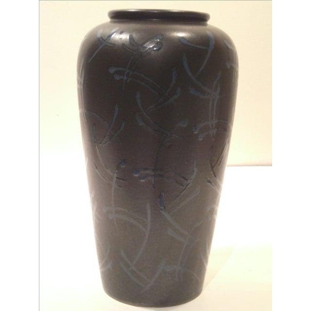 Scheurich Kera Large Mocha Vase - Image 4 of 8