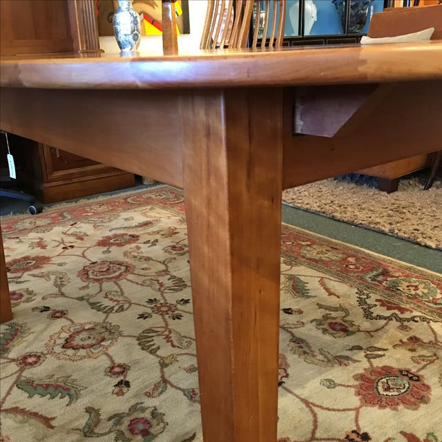 Borkholder Amish Oval Dining Table - Image 4 of 8