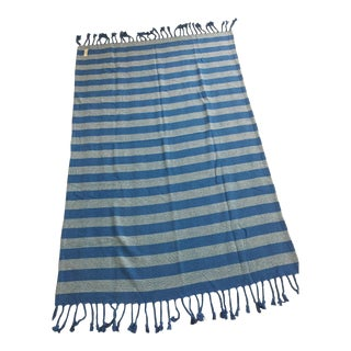 Serena & Lily Brahms Mount Striped Cotton Throw