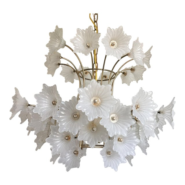 Flower Blossoms Chandelier - Image 1 of 9