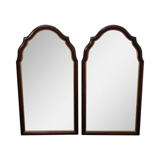 Statton Old Towne Solid Cherry Tombstone Frame Mirrors - Pair
