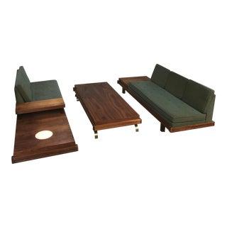 Martin Borenstein Sofa Pair & Coffee Table Set - Set of 3