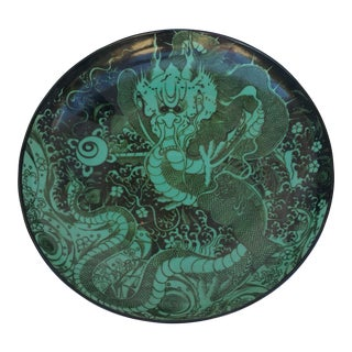 Emerald Green Dragon Charger