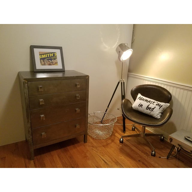 Norman Bel Geddes Metal Dresser - Image 6 of 7