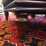 Image of Lexington Brown Leather Ottoman