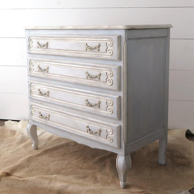French Blue Commode - Image 4 of 11