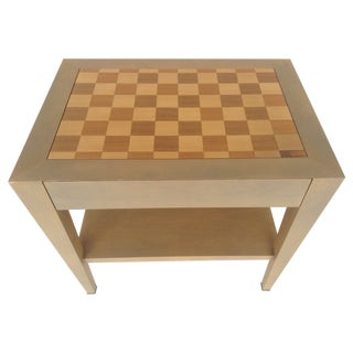 Donghia Paris Checkerboard Side Table
