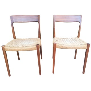 Teak Dining Chairs by Svegard Markaryd - A Pair