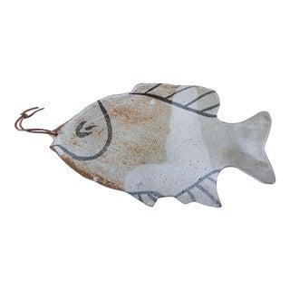 Vintage Pottery Fish Platter
