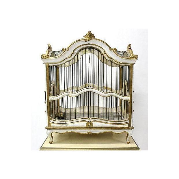 Florentine Birdcage & Pedestal - Image 5 of 7