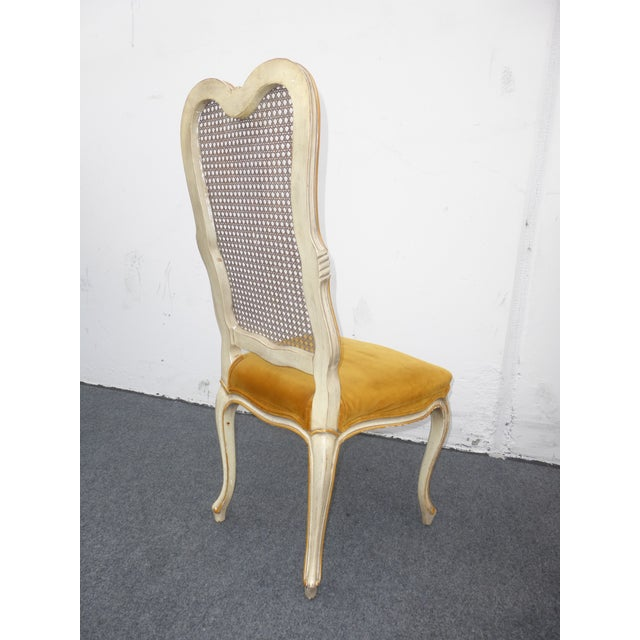 Vintage Karges Louis XV Style Cane Back Chairs - Image 6 of 11