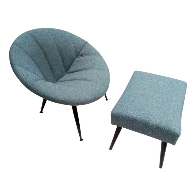 Image of Hoop Chair & Ottoman