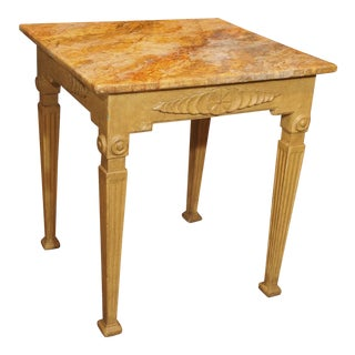 19th Century Italian Painted Table