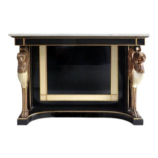 1920's Jansen Style French Empire Revival Console Table