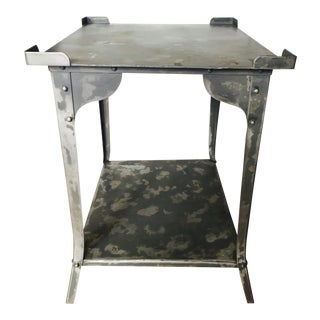 Metal Tiered Side Table