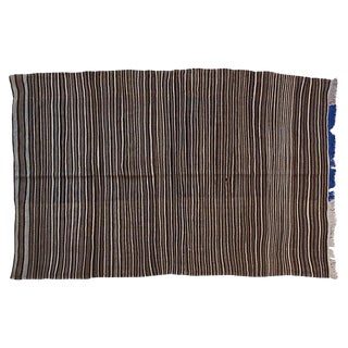 Striped Moroccan Berber Throw