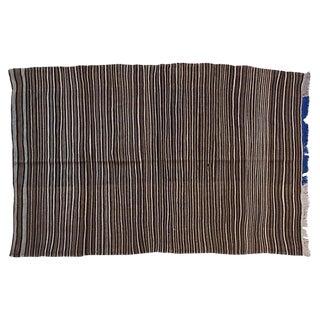 Striped Moroccan Berber Throw