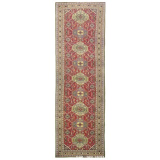 Vintage Persian Tabriz Rug - 3'3''x13'4''