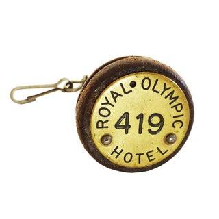 Vintage Royal Olympic Hotel Keychain