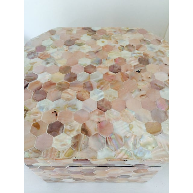 Mother of Pearl Tiled Box - Image 7 of 8